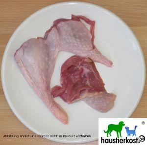 BIO-Putenkeulenfleisch in Stücken