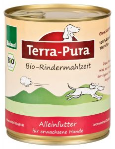 Terra-Pura Bio-Rindermahlzeit Hund