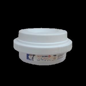 Tilty Bowl Trinknapf M ca. 0,6l Weiss, 1 Stück